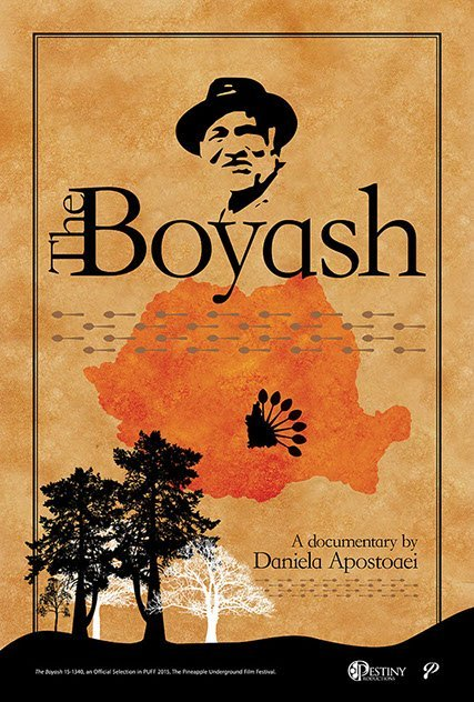 Official Poster The Boyash Documentary 2015, Director Daniela Apostoaei
