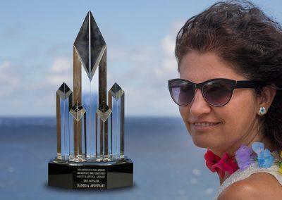 Daniela Apostoaei, Gold Kahuna Award, Honolulu, HI
