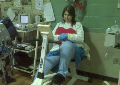 Cheryl Olson rehab, Ticket for Two Lives Documentary, 2015, Alberta, Canada