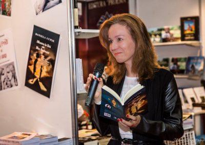 Elena Stan reads from the Blue Embrace - Albastru in Doi poetry book