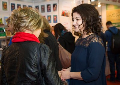 Daniela Cupse Apostoaei with Simona Stan, Journalist