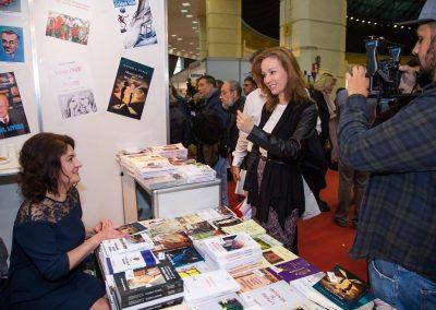 Gaudeamus International Book Fair, Bucharest Romania, 2017. Camera operator Viorel Mateescu