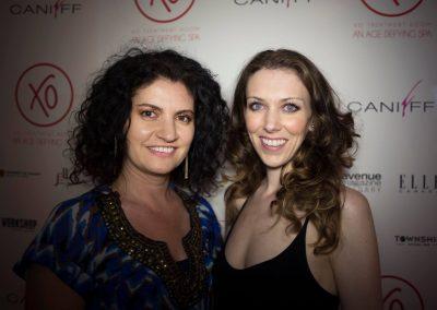 Daniela Apostoaei and Evie Eshpeter, CANIFFF 2016