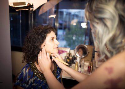 Makeup artist and Daniela Apostoaei, CANIFFF 2016