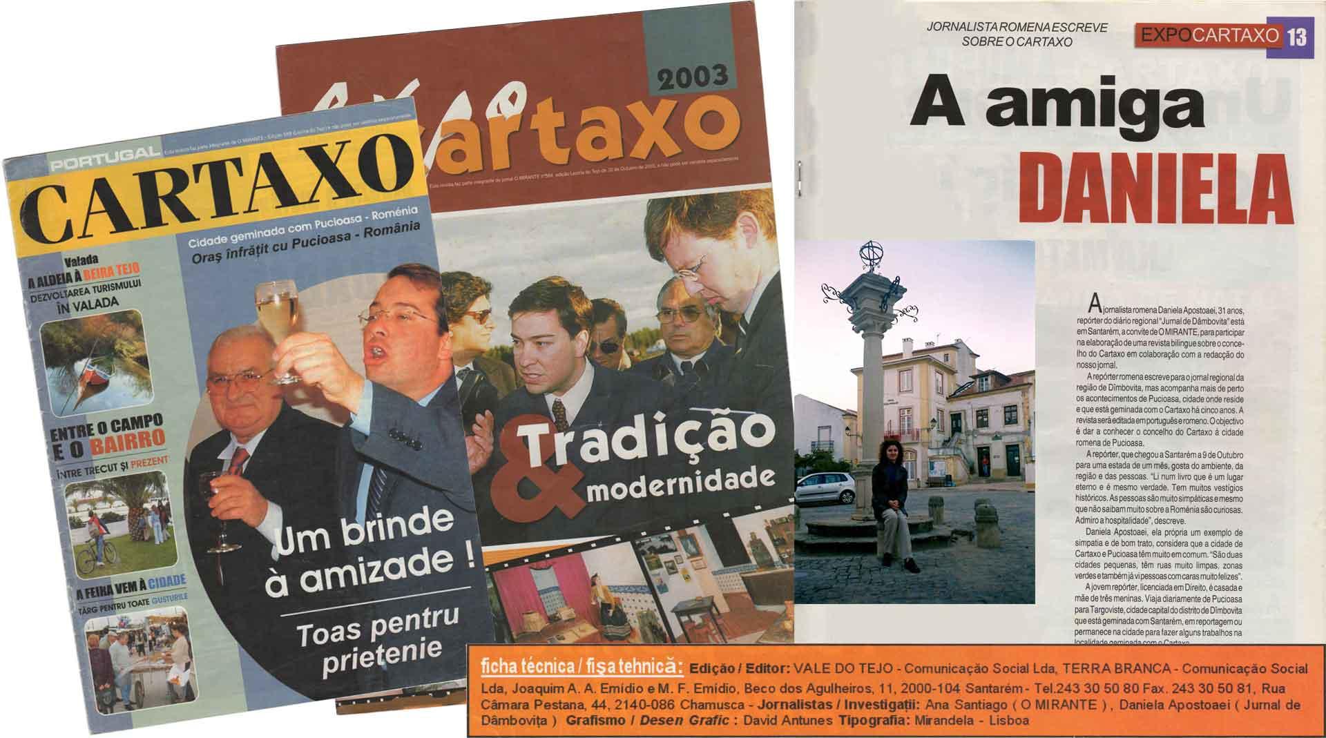 Cartaxo Magazines 2003 Santarem Portugal