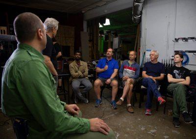 Film Director Lee Adams talks at the Travis Technique Intensive Course for Directors Los Angeles, CA 2016