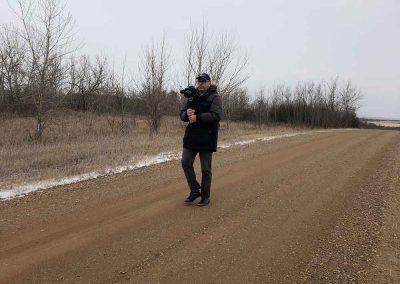 Codrut Miron, Gimbal Operator at Boian, Alberta, Canada