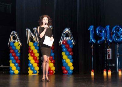 Daniela Apostoaei at the premiere of Another Little Romania, Calgary, AB