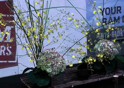 Ikebana at the Omatsuri Japanese Festival, Calgary Alberta Canada
