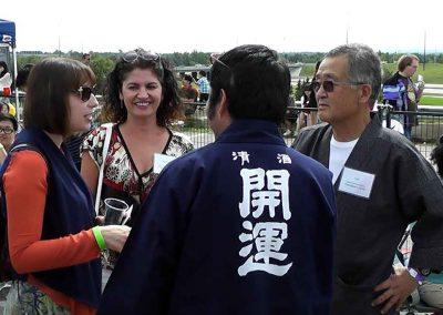 Sake stories at the Omatsuri Festival in Calgary