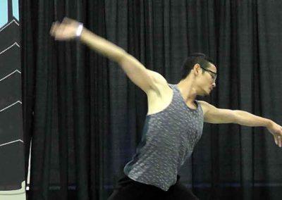 Yukichi Hattori contemporary professional dancer, Alberta Ballet member