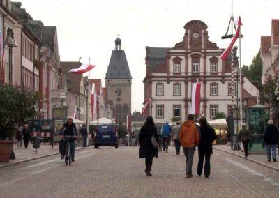 Central Plaza in Spyer, Germany