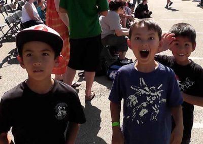 Kids at the Japanese Omatsuri Festival, Calgary, Alberta, Canada