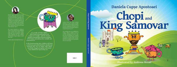 Chopi and King Samovar children book by Daniela Cupse Apostoaei